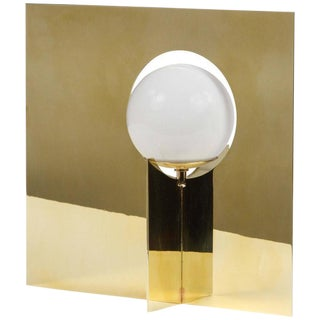 Paul Marra Brass Intersection Table Lamp