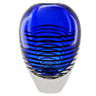 Mid-Century Sommerso Cobalt Blue