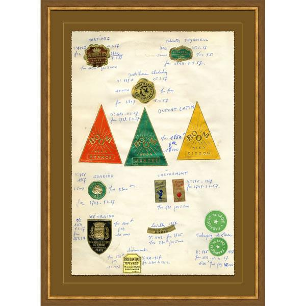 Image of Soicher Marin French Themed Apothecary Print