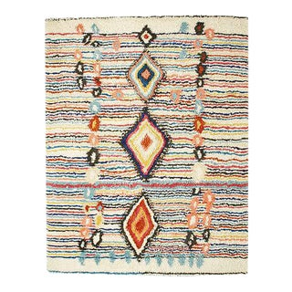 "West Elm Moroccan ""Charm"" Colorful Wool Area Rug- 8' x 10'"