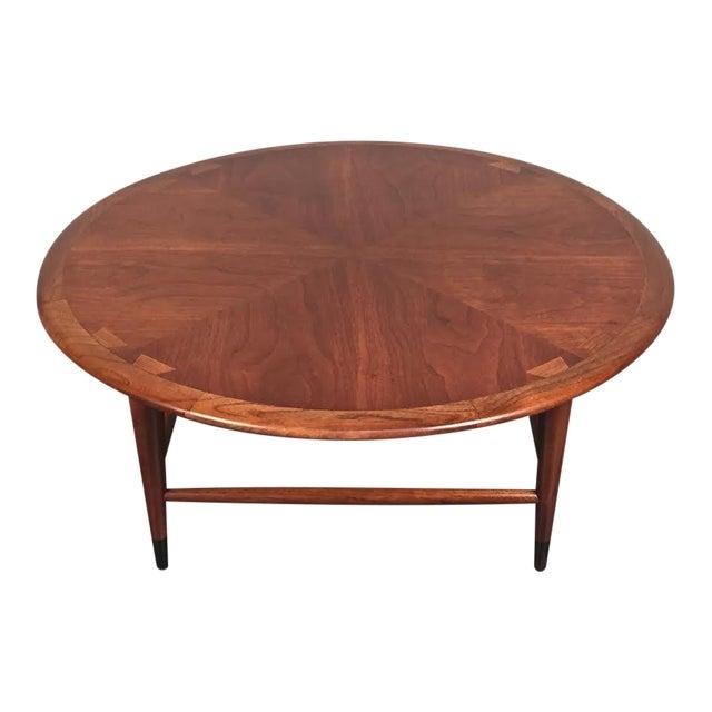 lane acclaim mid century modern coffee table chairish. Black Bedroom Furniture Sets. Home Design Ideas