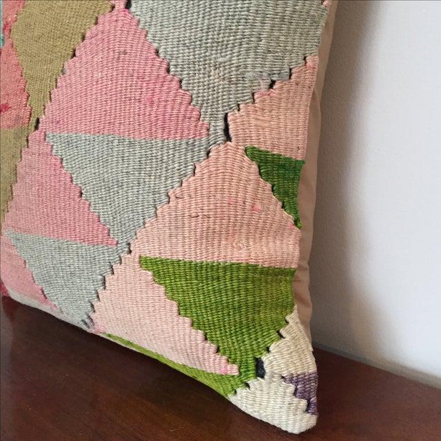 Vintage Kilim Throw Pillow - Image 4 of 5