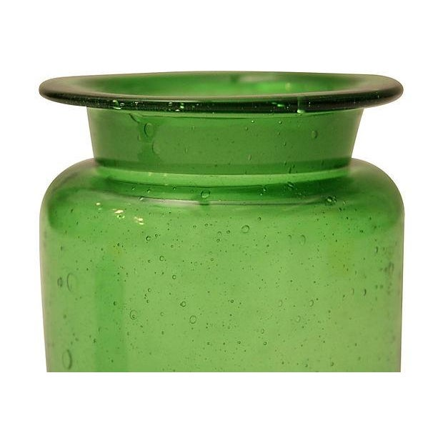 Bright Green Apothecary Lidded Jar - Image 3 of 4