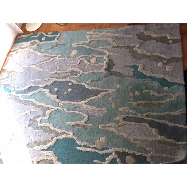 Seaglass angela adams ocean rug 8 39 x 10 39 chairish Angela adams rugs