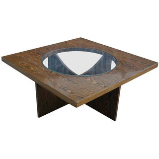 Wood Grain Coffee Table