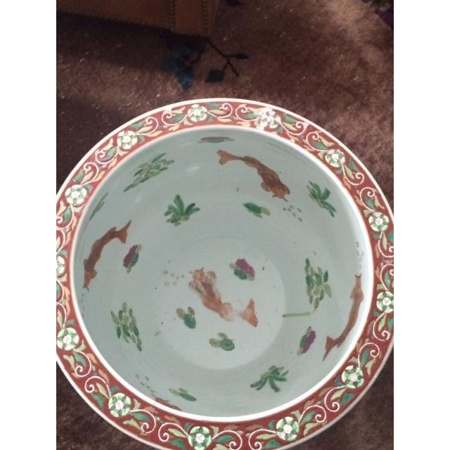 Koi Fish Bowls - Pair - Image 6 of 7