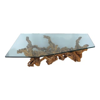 Over-scale Grapevine Coffee Table