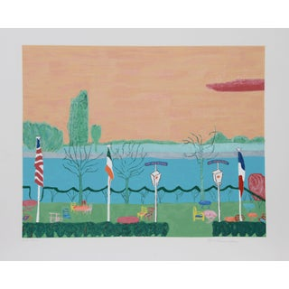 Marion McClanahan - Candebec III Lithograph