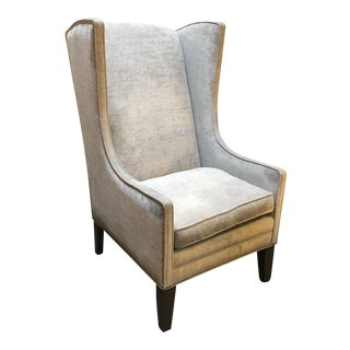 Nathan Anthony Kingston Wingback Chair