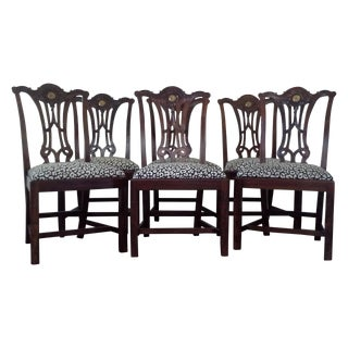 Maitland-Smith Chinese Chippendale Side Chairs - 6