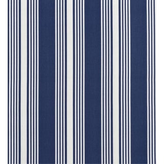 Clear Water Stripe Blue Fabric - 5 Yards