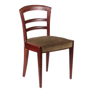 Dominique Set of Six Mahogany Dining Chairs