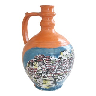 Mediterranean Jug Vase