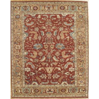 Pasargad N Y Hand-Knotted Fine Mahal Rug - 8' X 10'