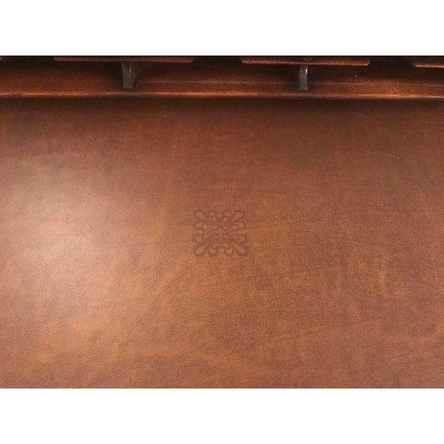 Burled Wood Lift Top Secretary Desk - Image 10 of 10