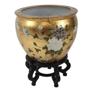 Chinese Porcelain Fish Bowl Jardiniere