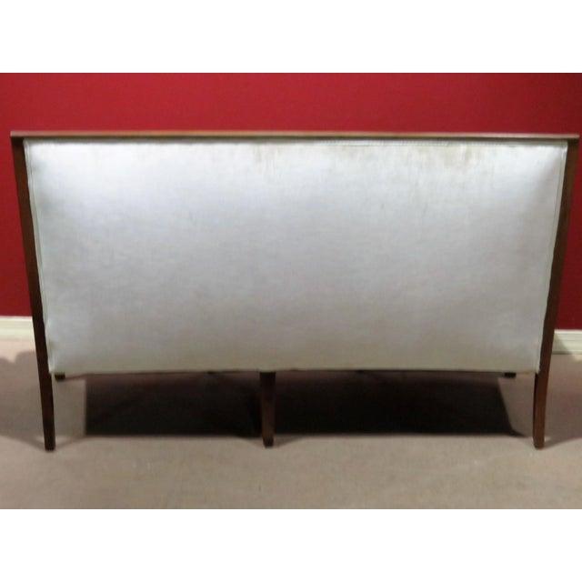 Regency Style Upholstered Sofa - Image 3 of 8