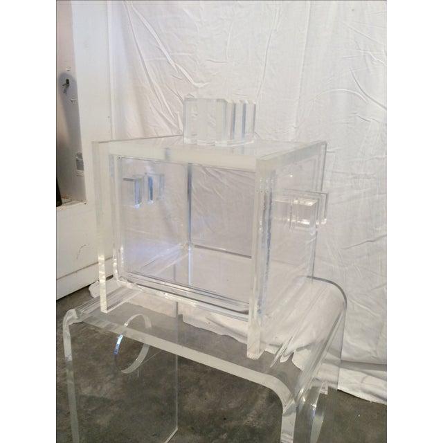 Mid-Century Modern Hollis Jones Style Ice Bucket - Image 4 of 7