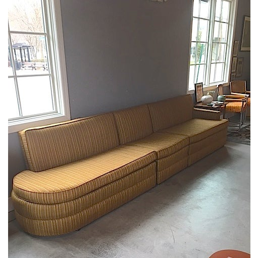Mid Century 3 Piece Sectional Sofa - Image 3 of 8