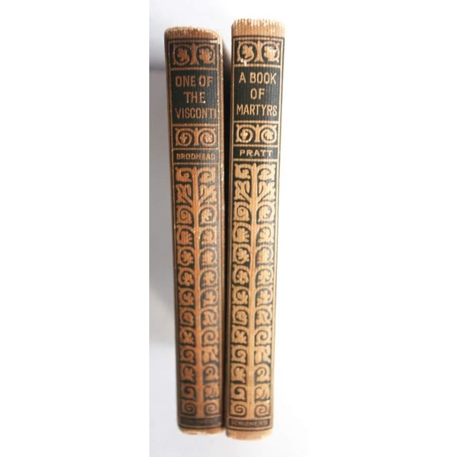 Image of Vintage Decorative Books - Pair