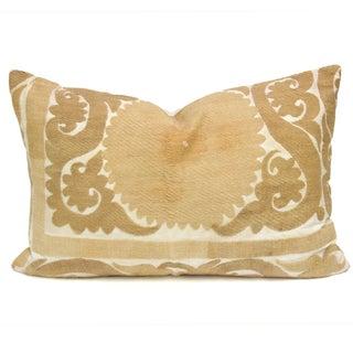Vintage Suzani Timeworn Pillow