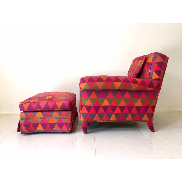 Image of Jack Lenor Larsen Style Vintage Lounge Chair