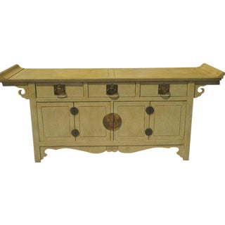 James Mont Style Baker Furniture Company Chinese Credenza