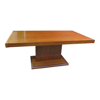Gorgeous 1950 Pedestal Center Table Attributed to Baughman