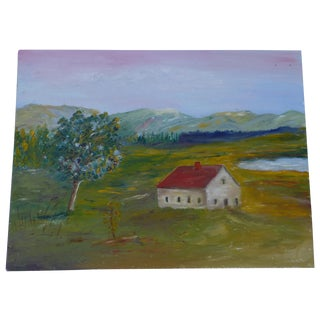 MCM Painting Rural Scene by H.L. Musgrave