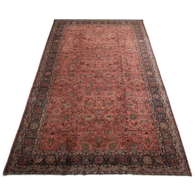 RugsinDallas Antique Turkish Sparta Hand Knotted Wool Rug- 11′ × 19′9″ - Image 2 of 2