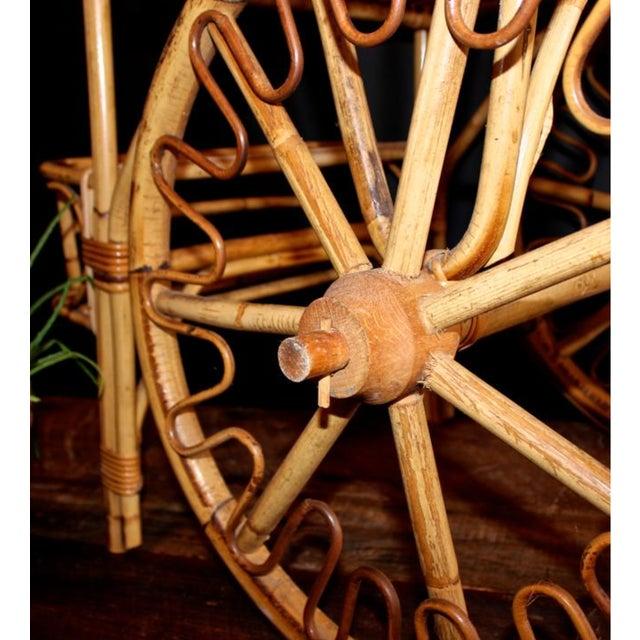 Rattan Bar Cart - Image 3 of 10