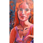 Image of Moody Ballerina Oil Painting