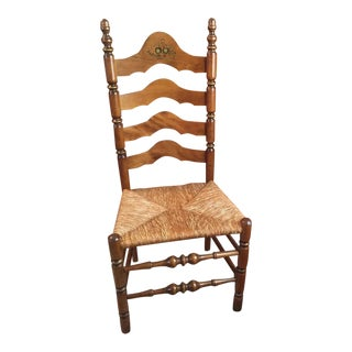 Antique Nichols & Stone Ladder Back Chair