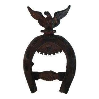 Masonic Cast Iron Horse Shoe