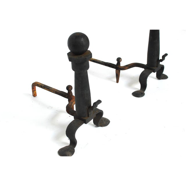 Wrought Iron Cannonball And Irons Andrions - Image 3 of 4