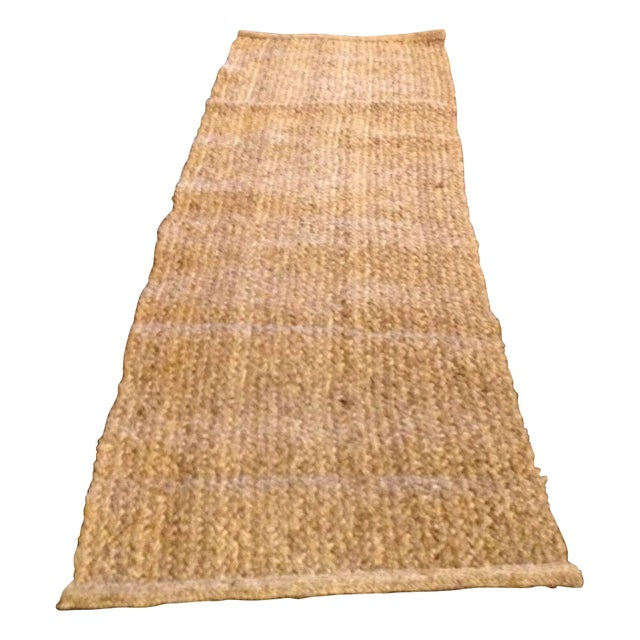 Pottery barn natural coir runner chairish for Pottery barn carpet runners