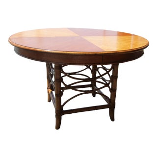 Tommy Bahama Coconut Grove Round Dining Table W/ Leaves