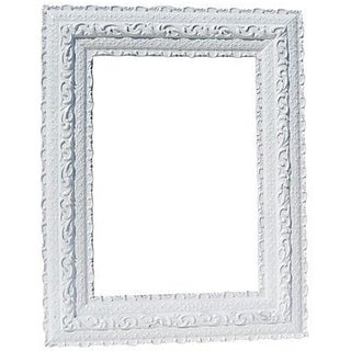 Antique Painted White Frame