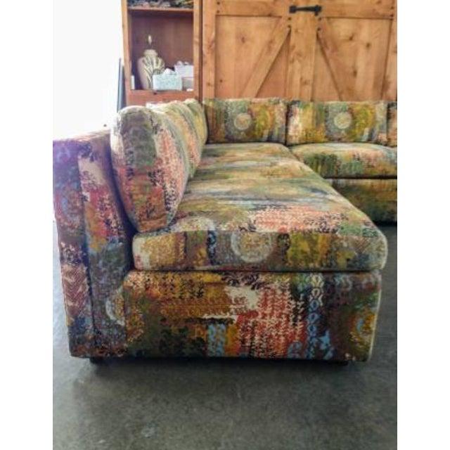Image of Vintage Drexel Mid-Century Modern Sectional Sofa