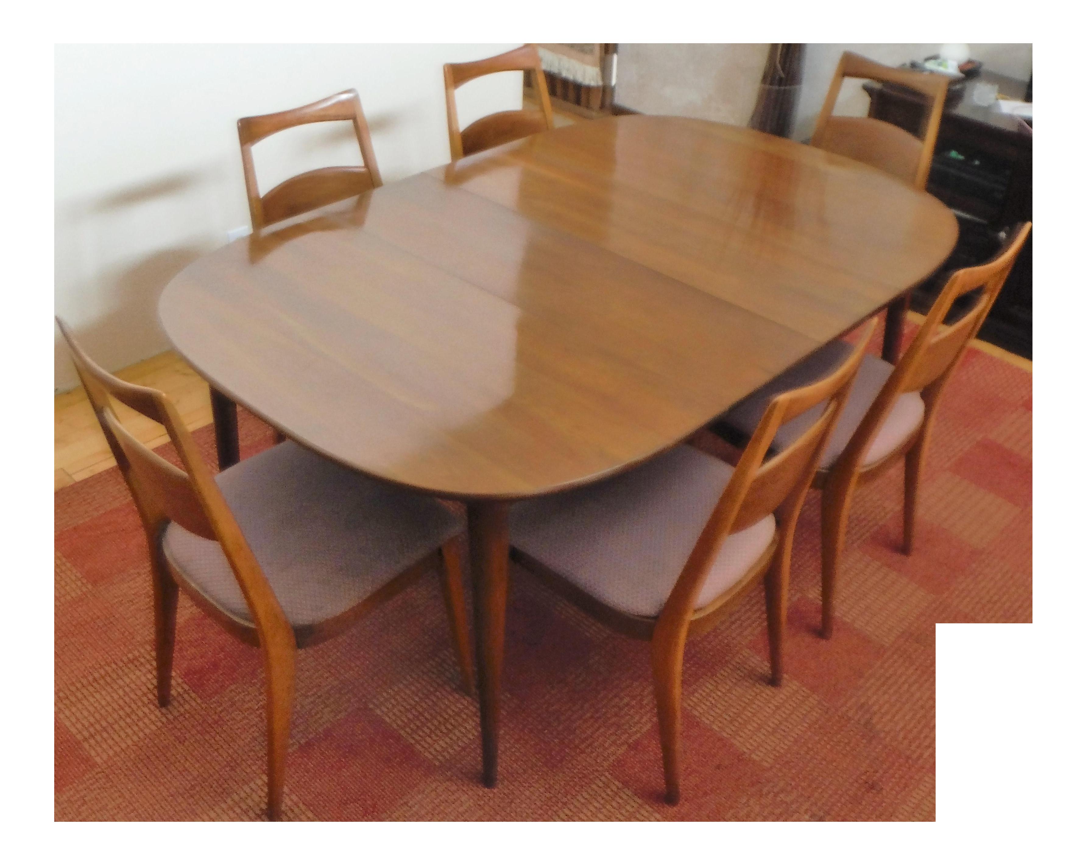 Heywood Wakefield Solid Cherry Dining Set