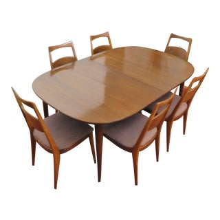 Heywood-Wakefield Solid Cherry Dining Set