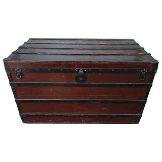 Mid 1800s Early Louis Vuitton Trunk