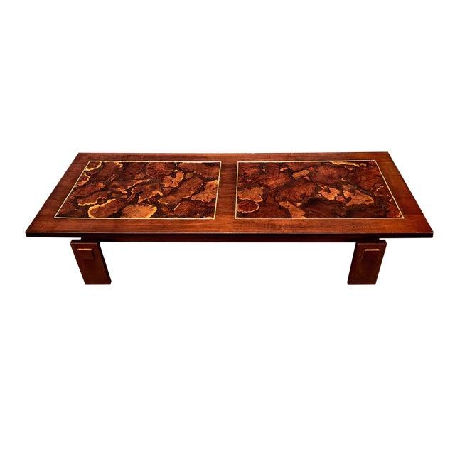 Lane Mid Century Burl Wood Coffee Table. Lane Mid Century Burl Wood Coffee Table   Chairish