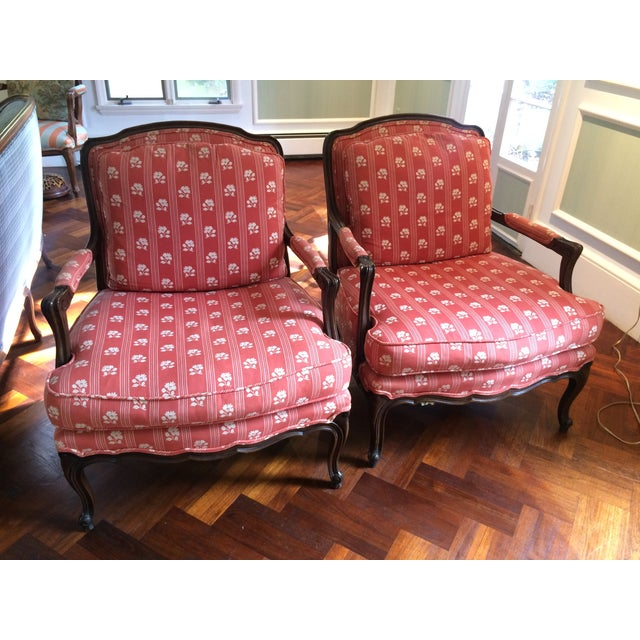 Baker Furniture Bergere Chairs - A Pair - Image 3 of 11
