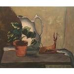 Image of Vintage Still Life Painting