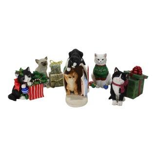 Lenox Christmas Kitty Collection - Set of 5