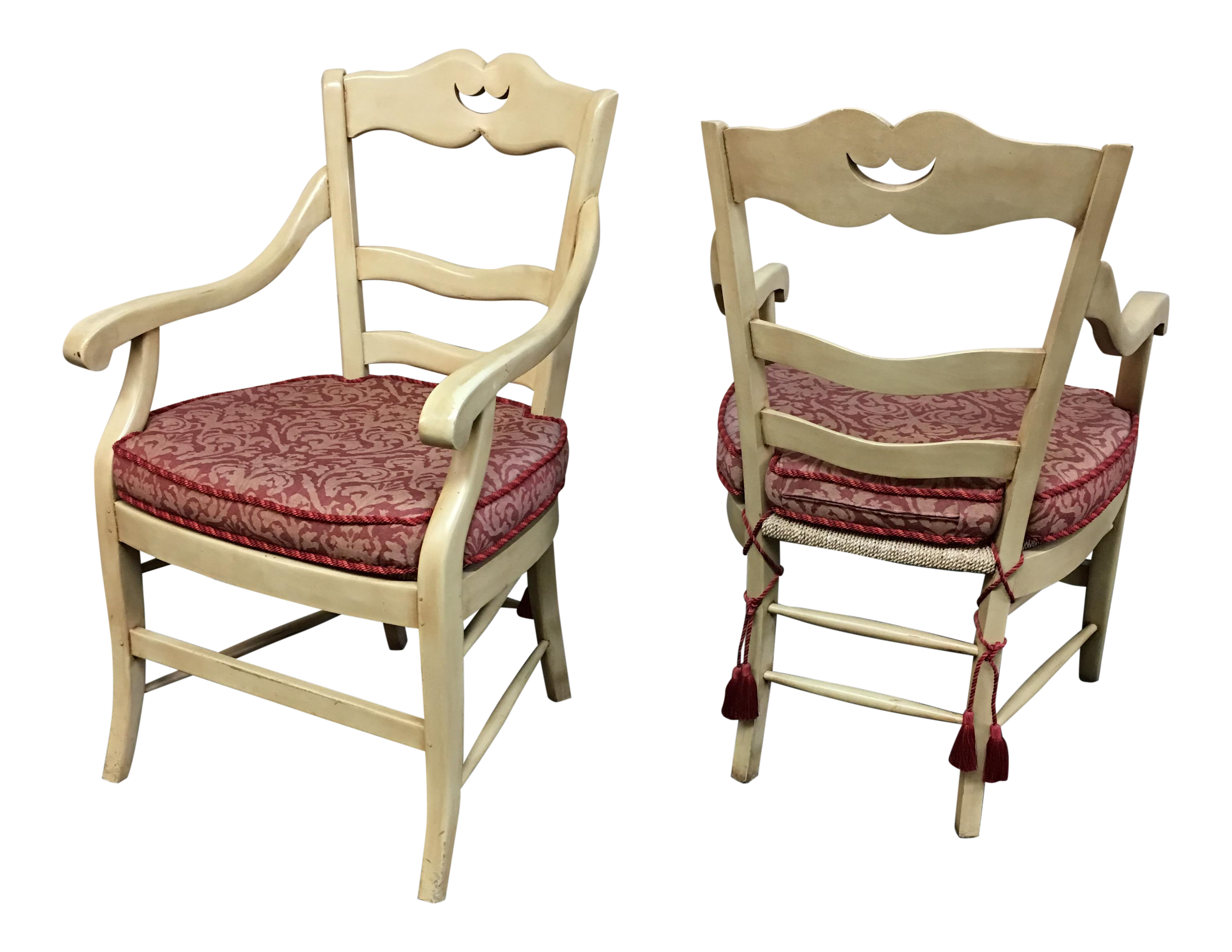 marie albert french country chairs a pair