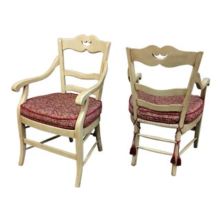 Marie Albert French Country Chairs - A Pair