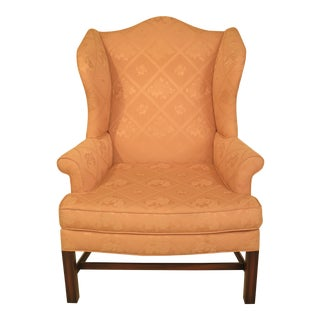 Kittinger Chippendale Style Wingback Chair
