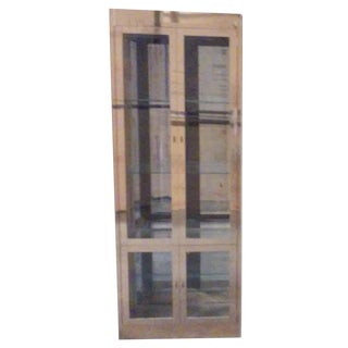 Mastercraft Vintage Brass and Glass Vitrine
